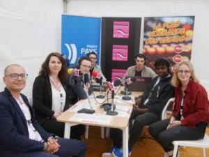 equipe radio en studio